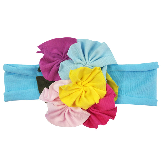 Kella Milla Cotton Floral Baby Headbands