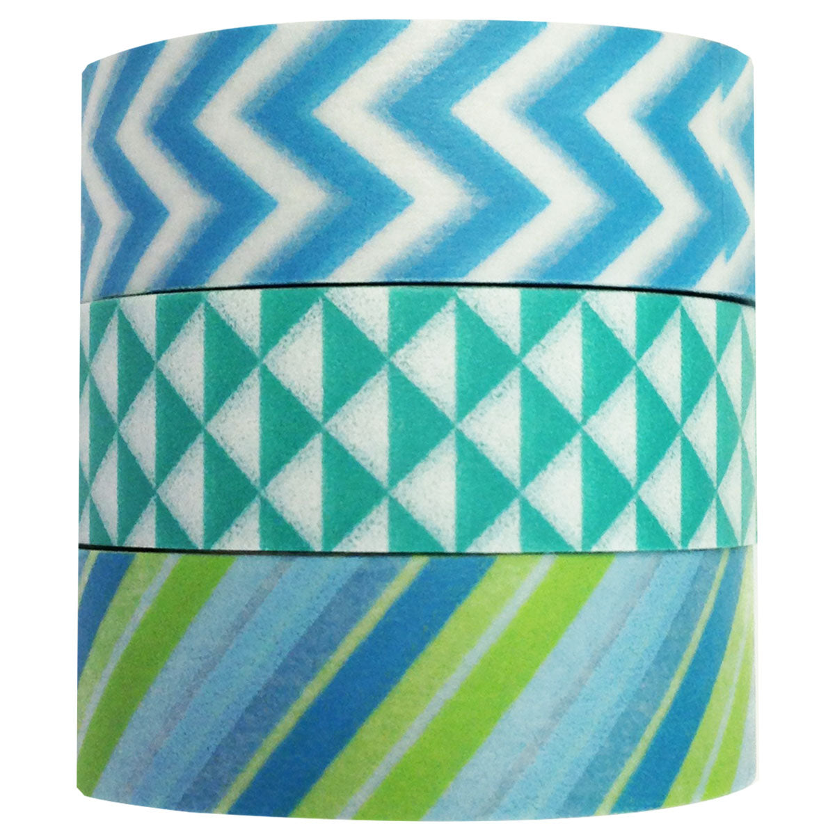 Wrapables Floating Iceberg Japanese Washi Masking Tape (set of 3)