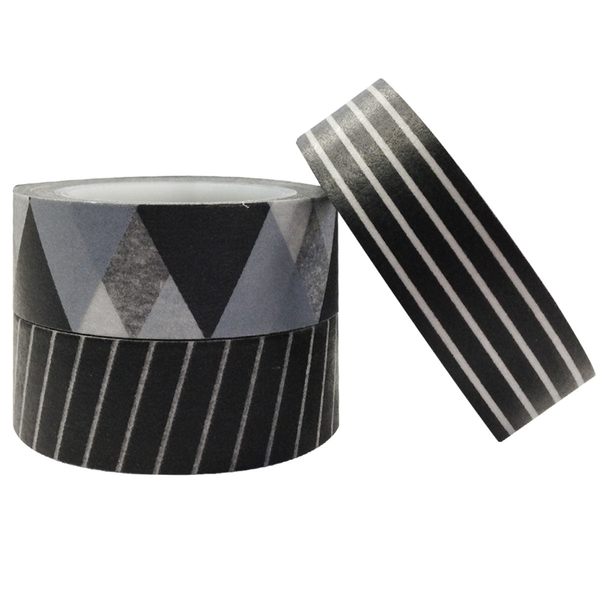 Tuxedo Japanese Washi Masking Tape (set of 3)