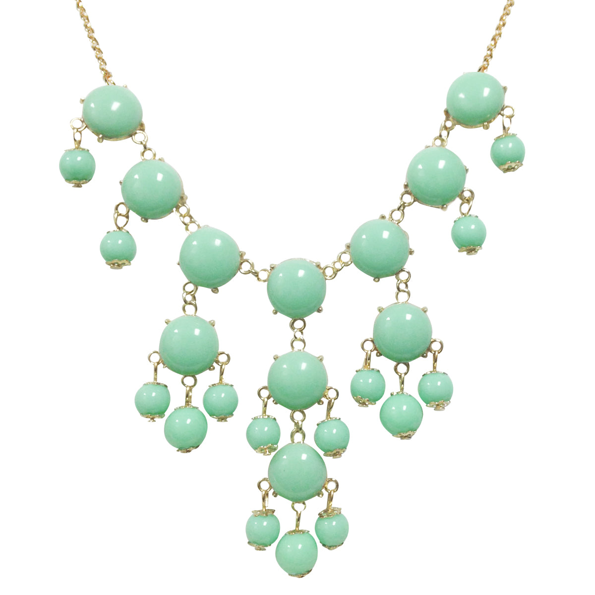 Wrapables Mini Bubble Bib Statement Necklace