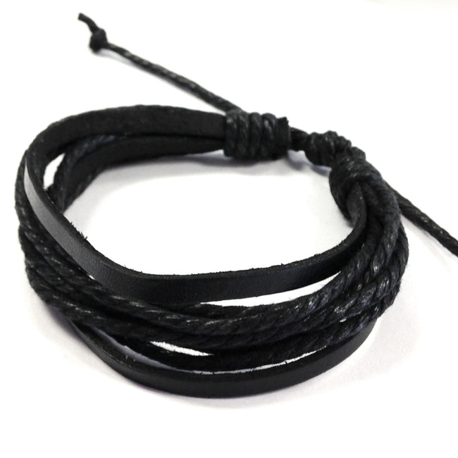Wrapables Leather Adjustable Bracelets
