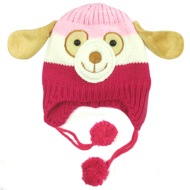 Wrapables Knitted Animal Baby Beanie Hat
