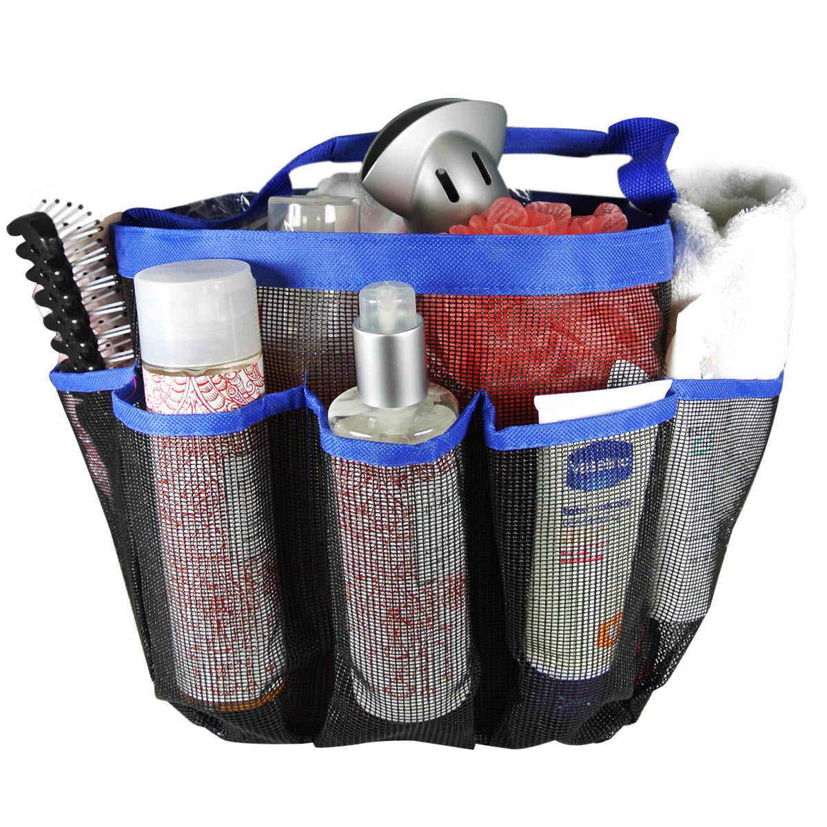 Quick Dry Portable Mesh shower Caddy/Tote/Organizer