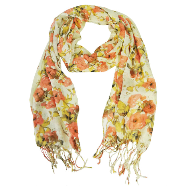 Viscose Floral Print Scarf