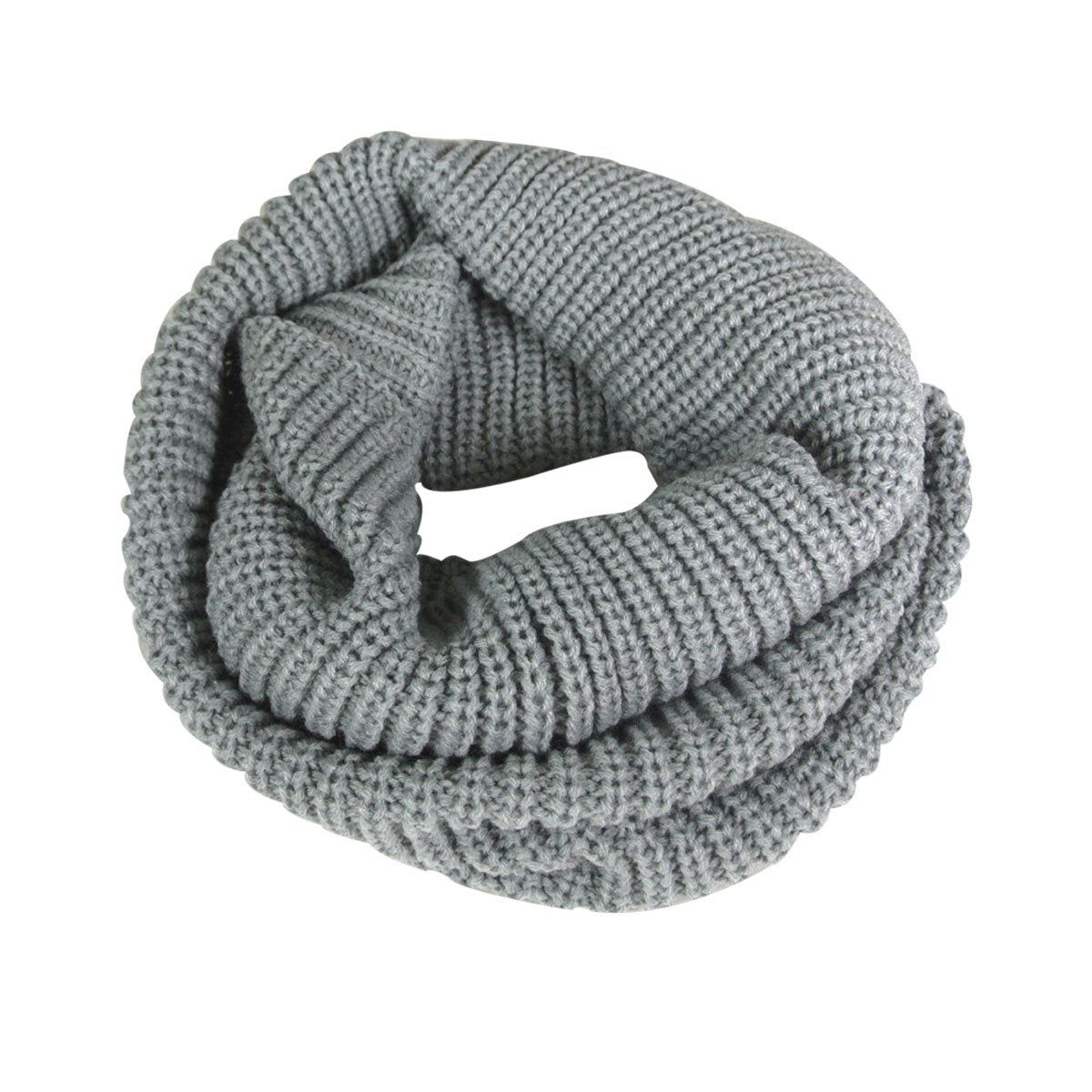 Thick Knitted Winter Warm Infinity Wool Scarf