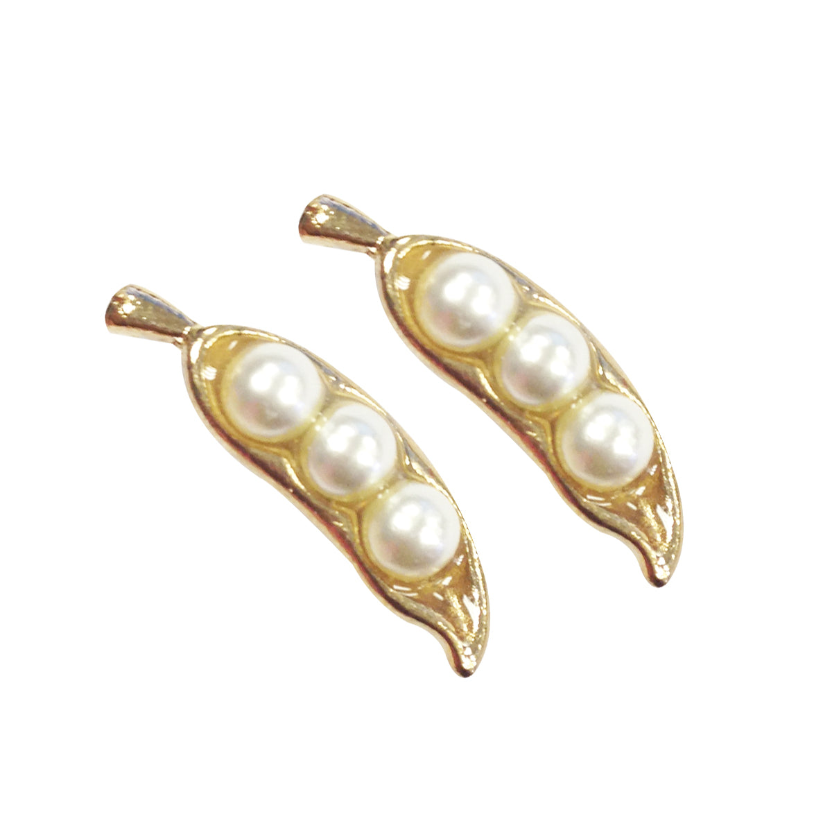 Wrapables Pea Pod Earrings