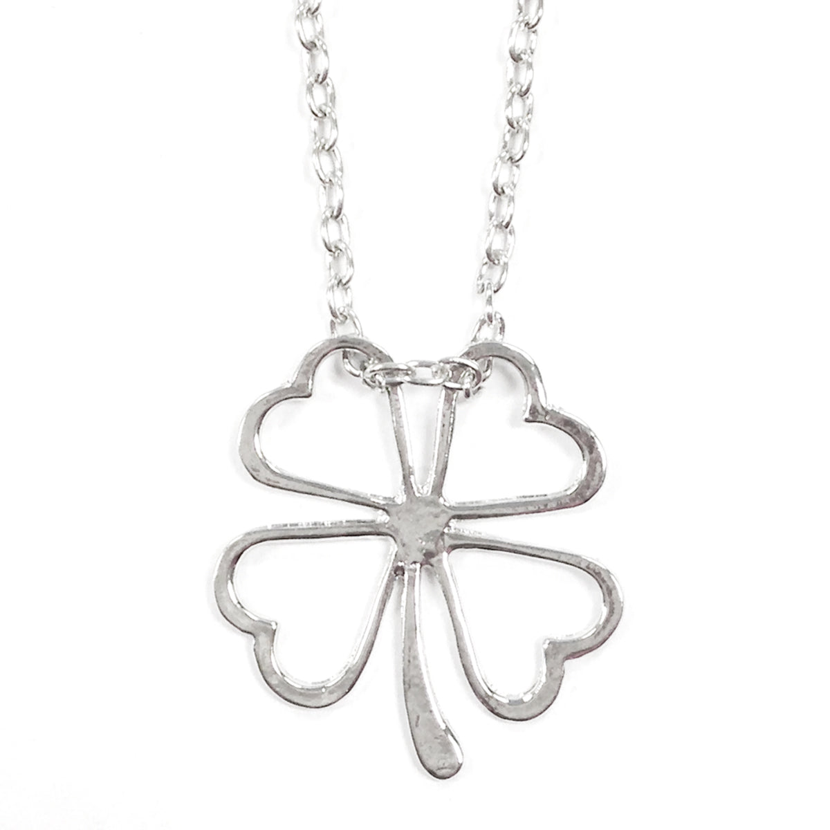 Wrapables Four Leaf Clover Flower Necklace