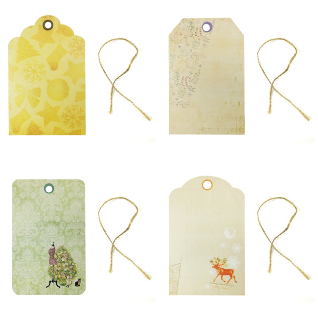 Wrapables Printing Tag, Set of 24