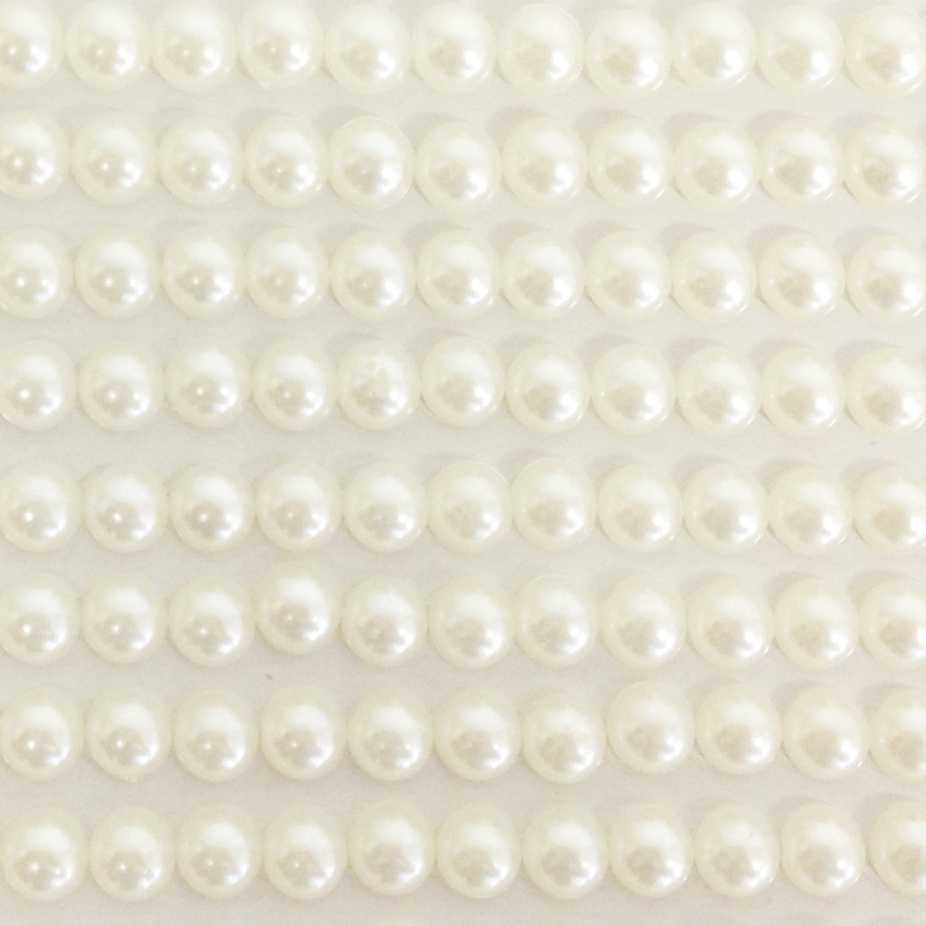 Wrapables 5mm Self Adhesive Pearl Stickers, 765pcs