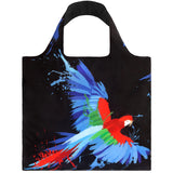 LOQI Anima Parrot & Butterfly Reusable Shopping Bag