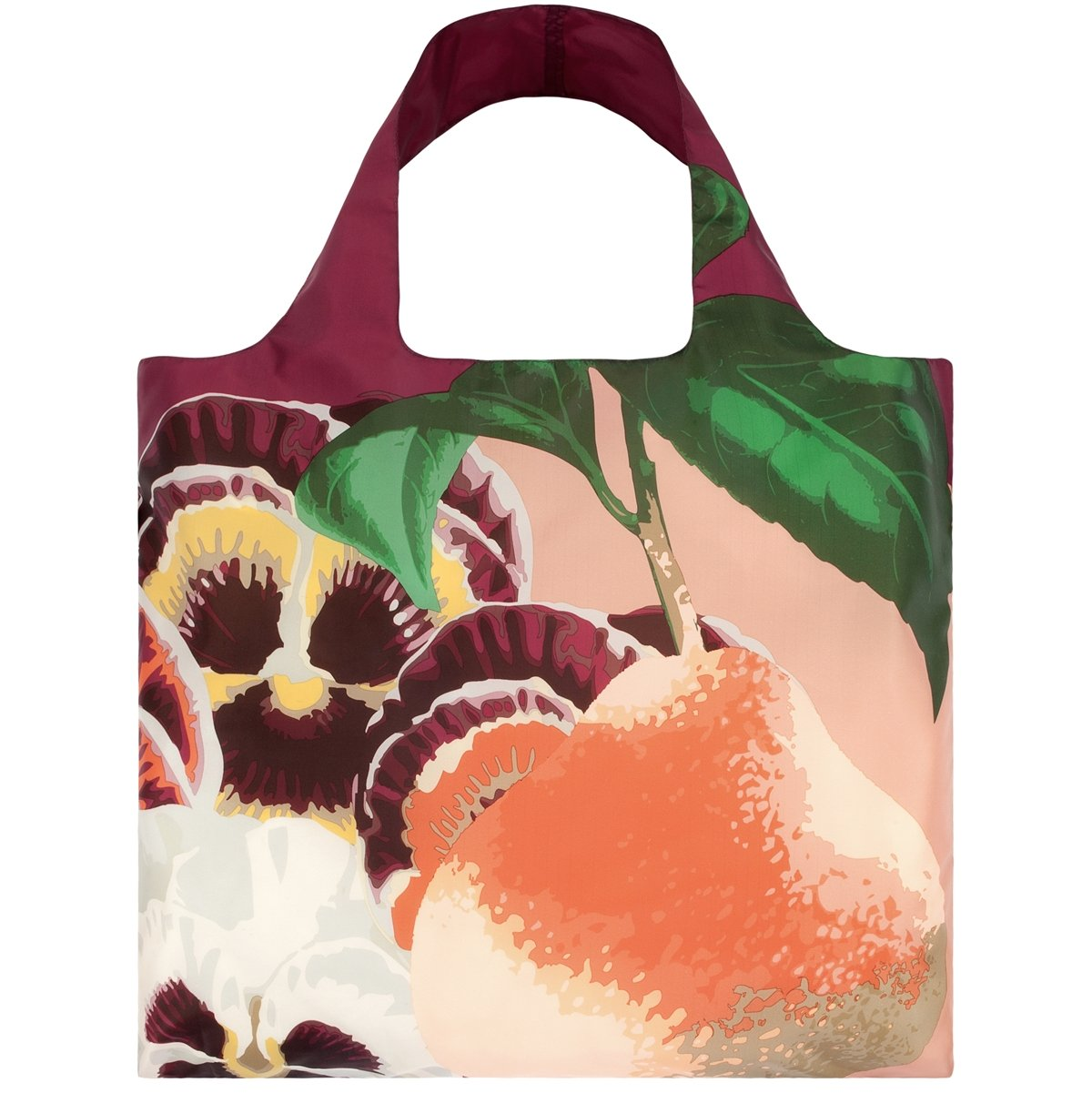 LOQI Botany Collection Pouch, Set of 4 Reusable Bags