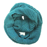 Wrapables Thick Knitted Winter Warm Infinity Wool Scarf