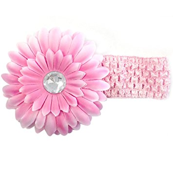 Size 12 Wrapables Floral and Lace Keepsake Shoes and Headband Set Pink