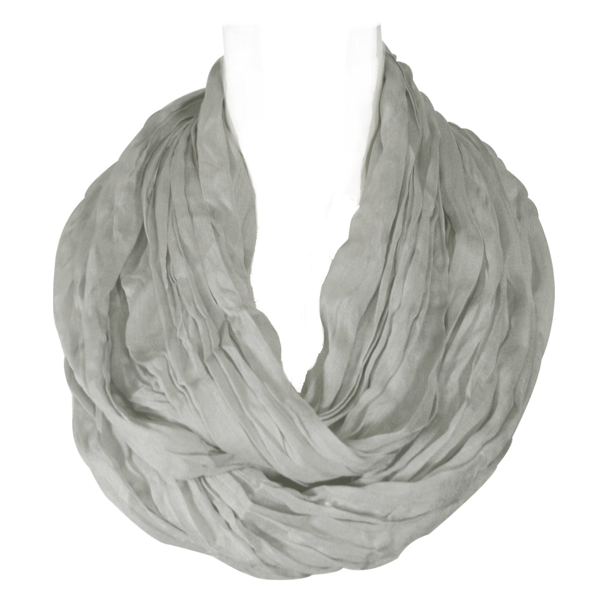 Lightweight Silky Soft Infinity Loop Scarf