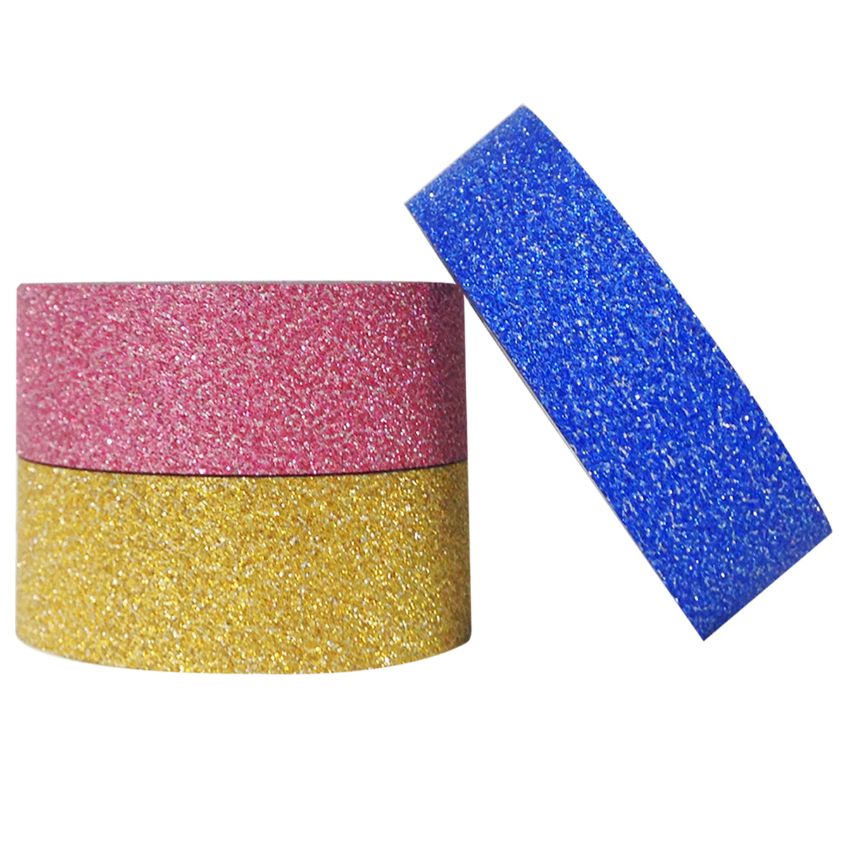 Wrapables Glamorous Glitter Japanese Washi Masking Tape (Set of 3)