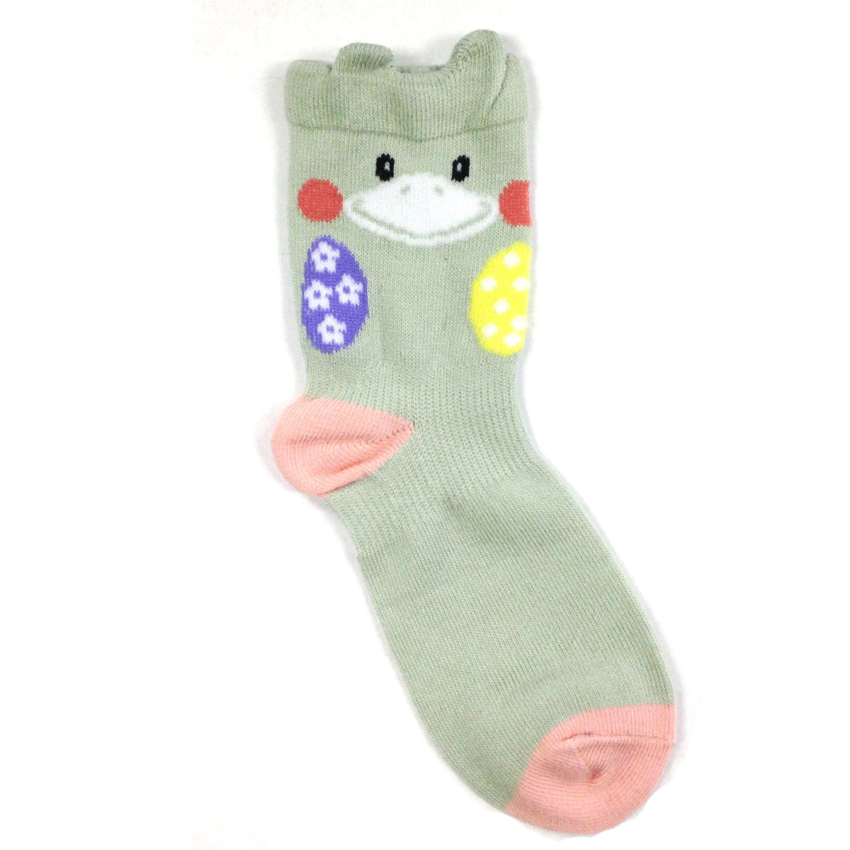 Wrapables Peek A Boo Animal Toddler Socks (Set of 6), XL