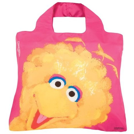 Envirosax Sesame Street Shopper,Grover + Big Bird