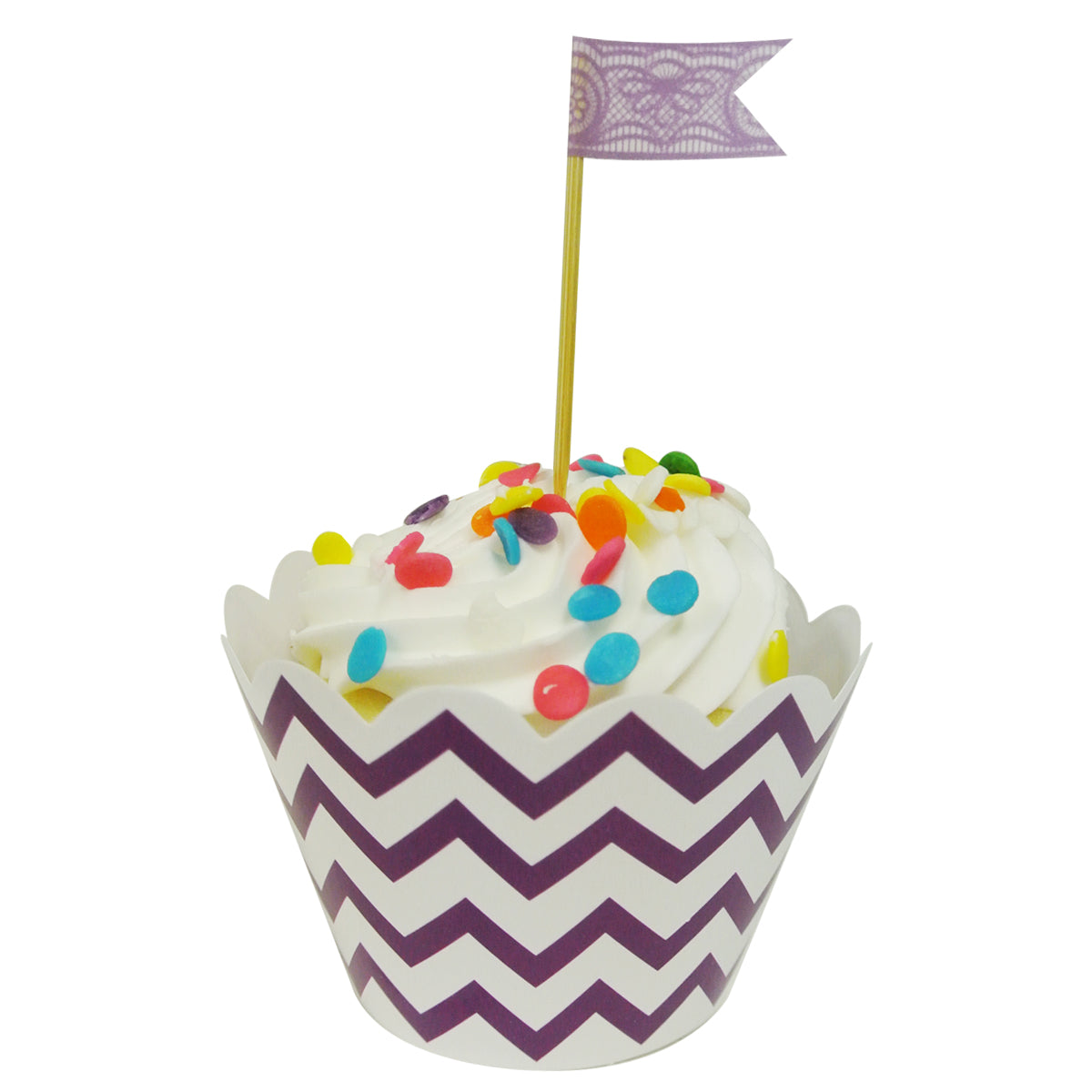 Wrapables Standard Size Chevron Cupcake Wrappers (Set of 20)