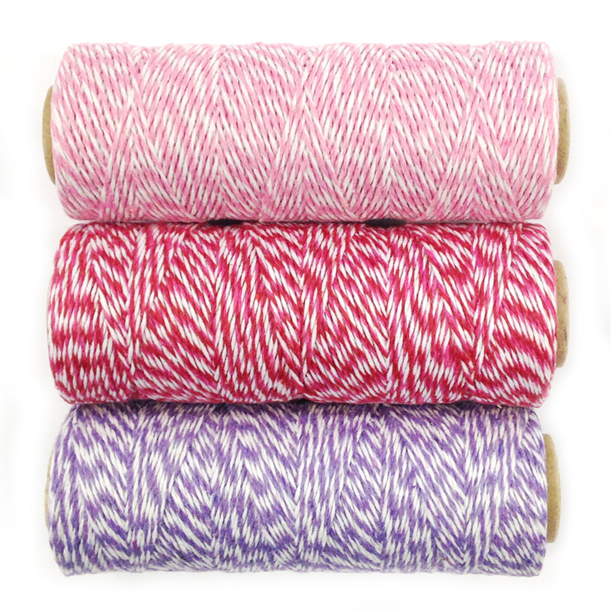 Wrapables Cotton Baker's Twine 4ply 330 Yards (Set of 3 Spools x 110 Yards)