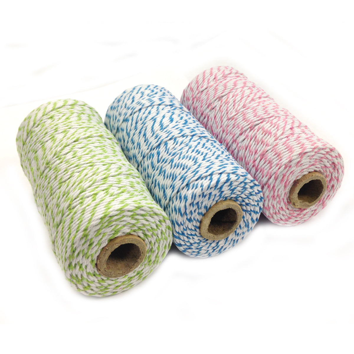 Wrapables Cotton Baker's Twine 12ply 330 Yards (Set of 3 Spools x 110 Yards)