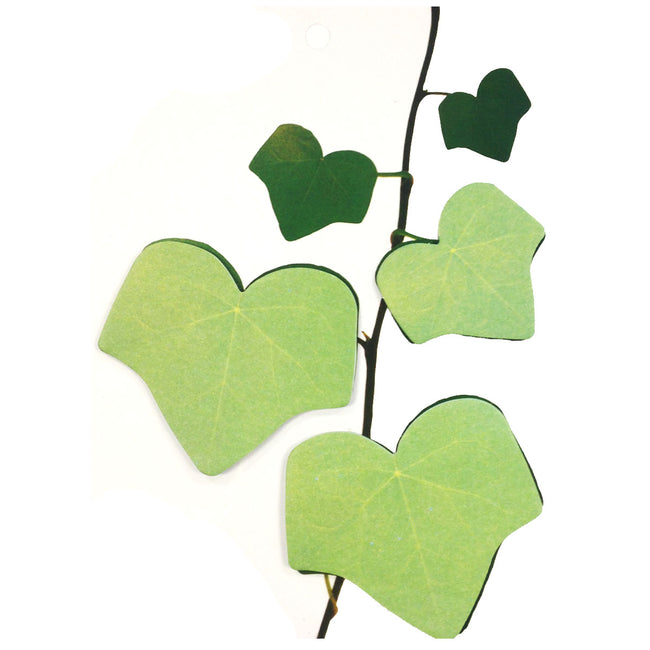 Wrapables Tree Leaf Sticky Notes, Green