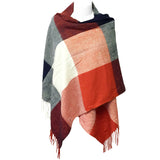 Wrapables Winter Warm Plaid Long Scarf Wrap