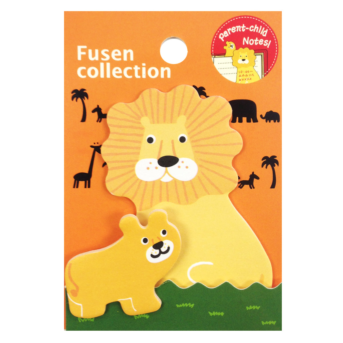 Wrapables Lion Parent and Child Bookmark Memo Sticky Notes