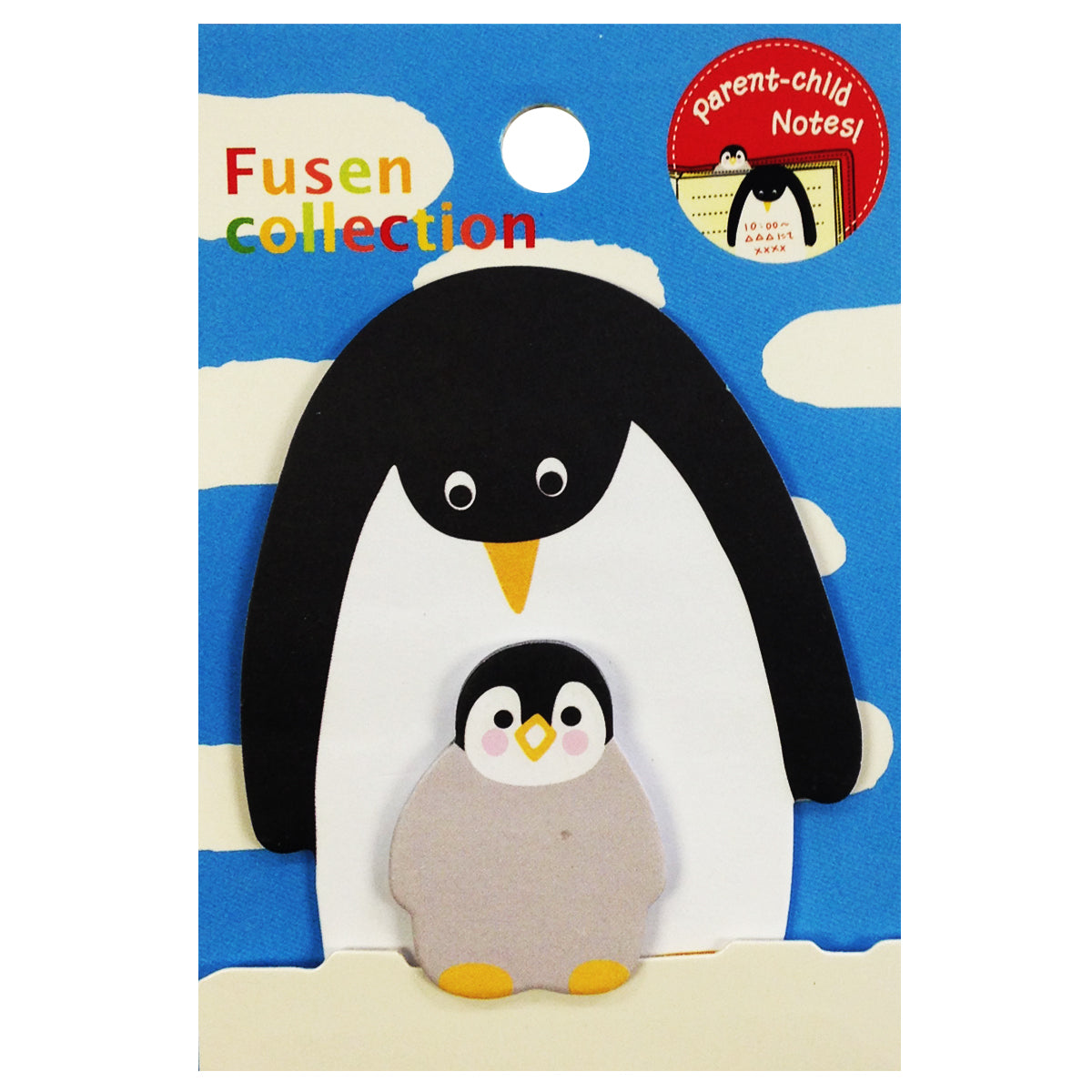 Wrapables Penguin Parent and Child Bookmark Memo Sticky Notes