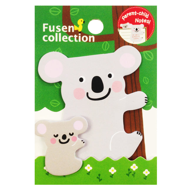 Wrapables Koala Parent and Child Bookmark Memo Sticky Notes