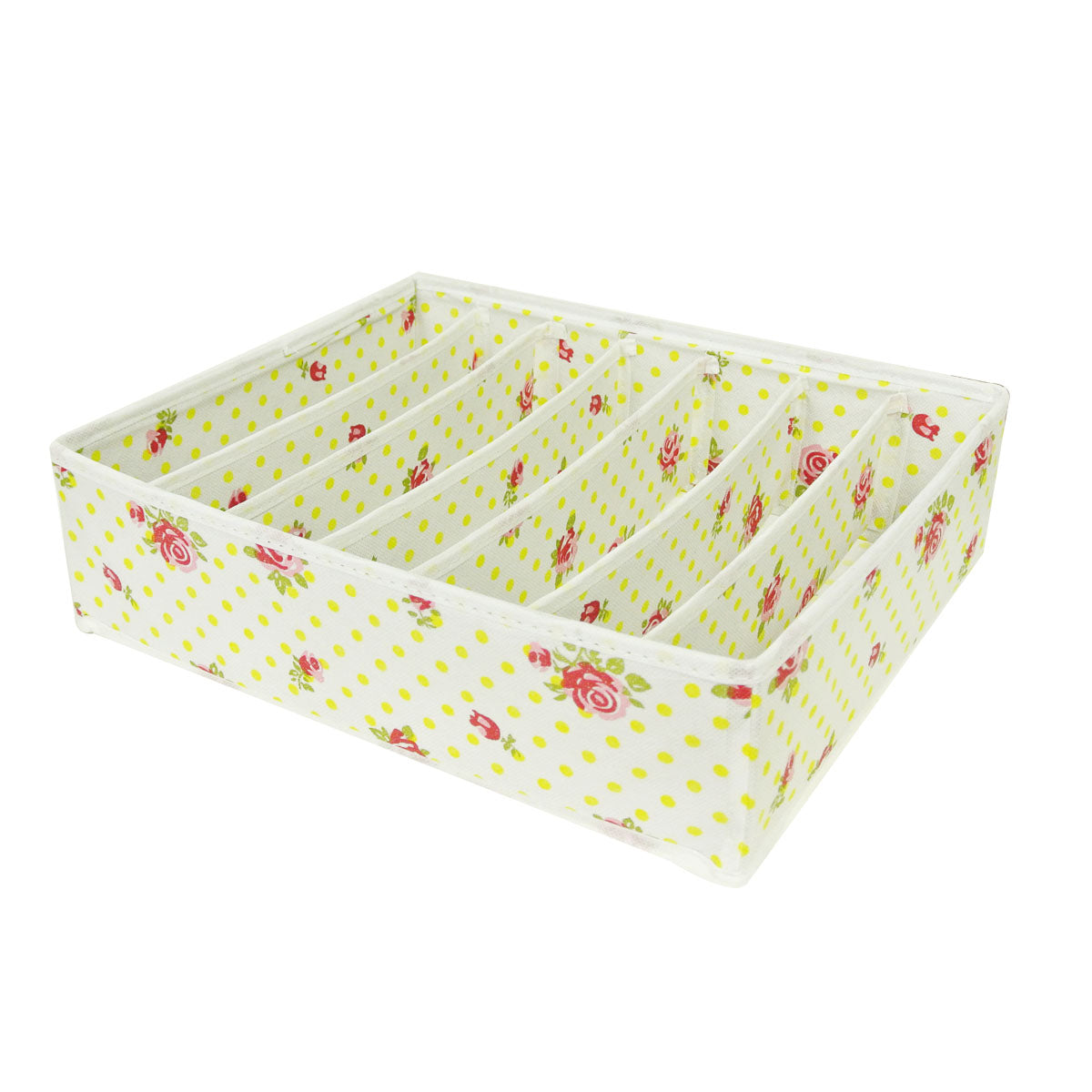 Set of 4 Foldable Closet Organizer Storage Box for Underwear and Socks