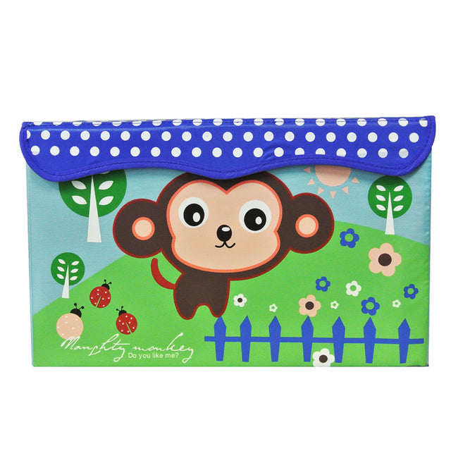 Children's Monkey Storage Organizer for Toys and Clothes