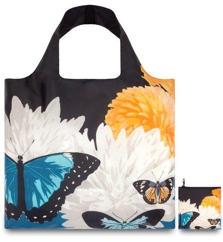 LOQI Botany Butterfly Reusable Shopping Bag