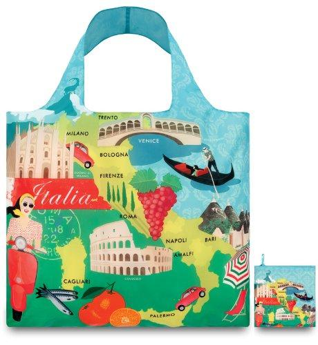 LOQI Urban Italy Reusable Shopping Bag