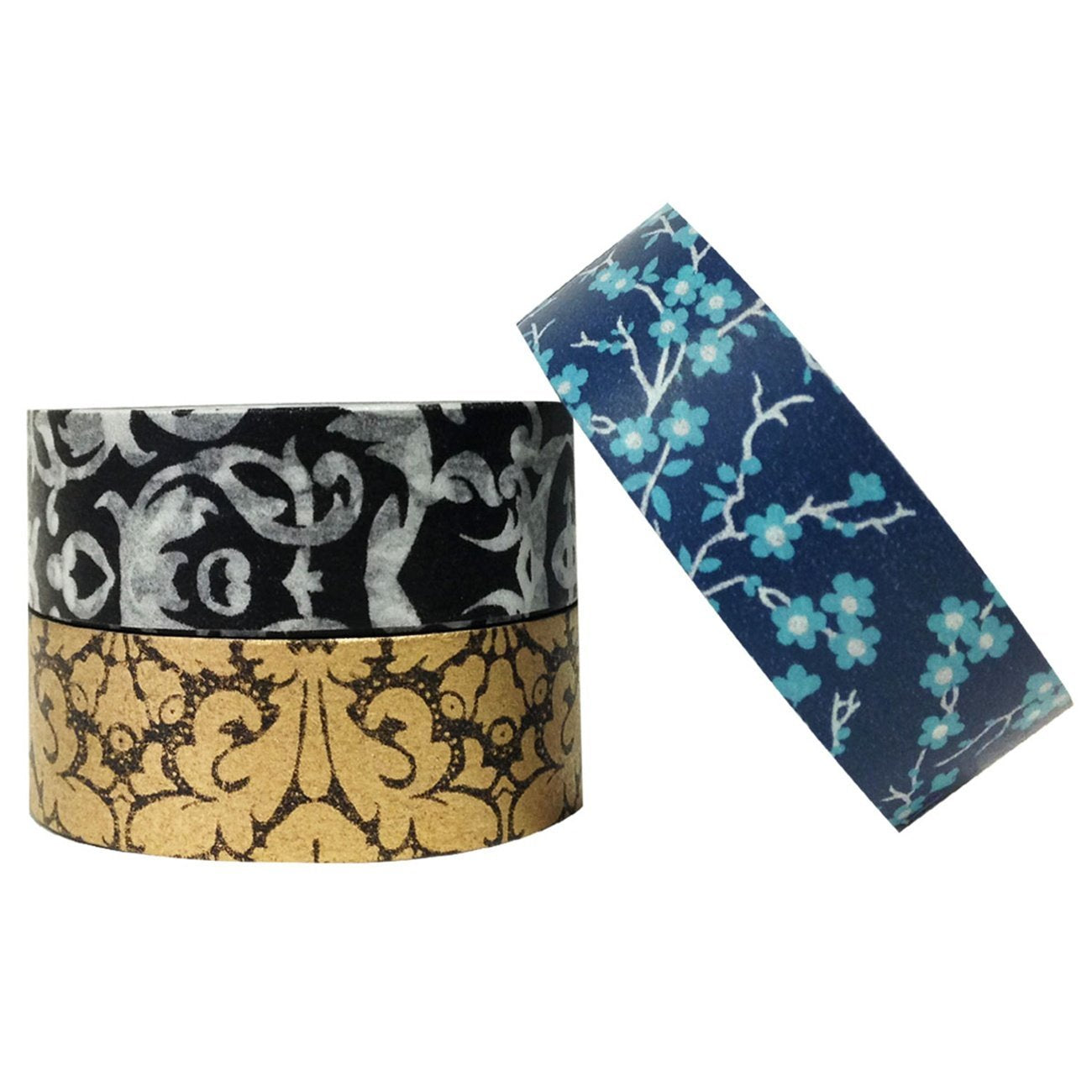 Wrapables Enchantment Japanese Washi Masking Tape (set of 3)