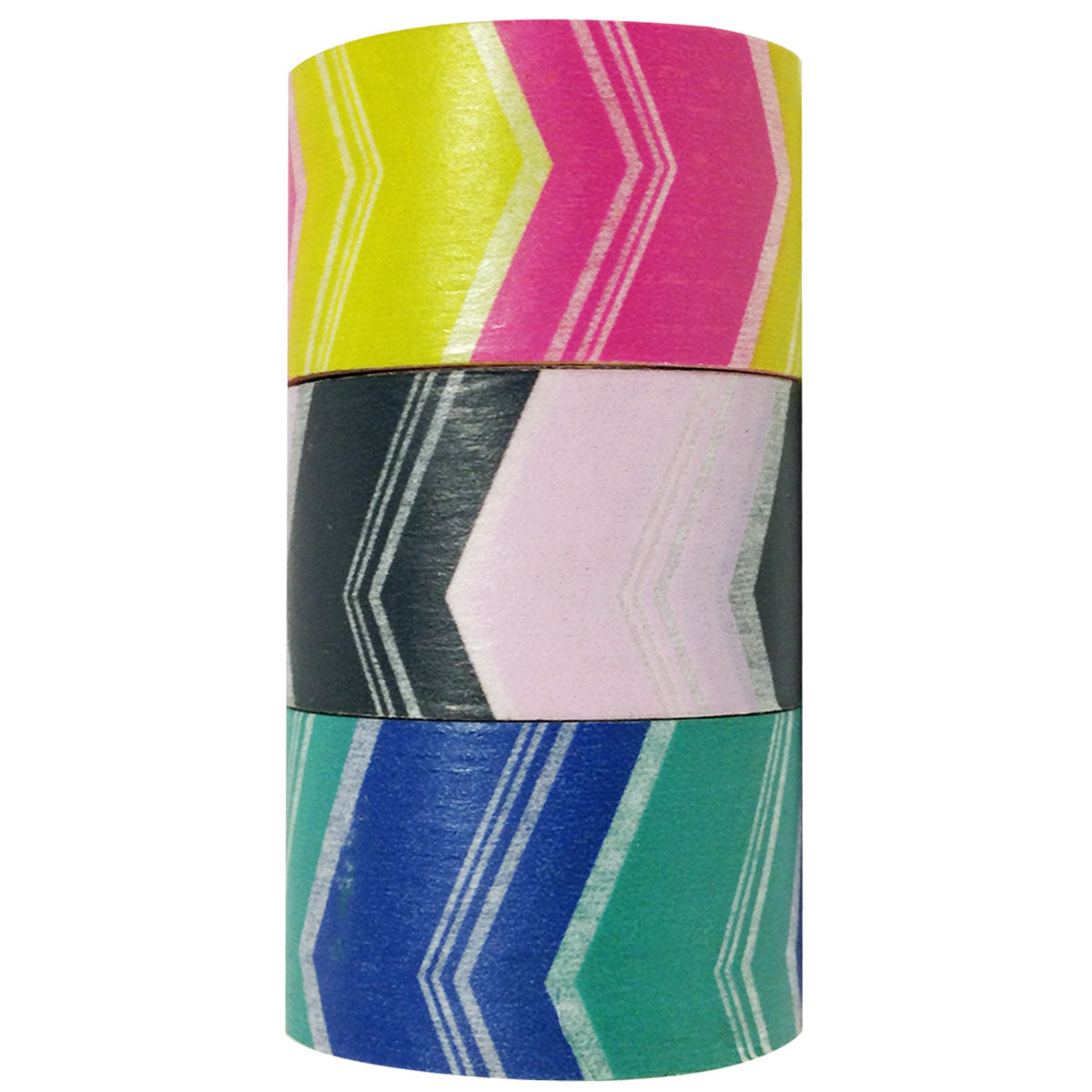 Wrapables Retro Arrows Japanese Washi Masking Tape (set of 3), 20M L x 4.5mm W