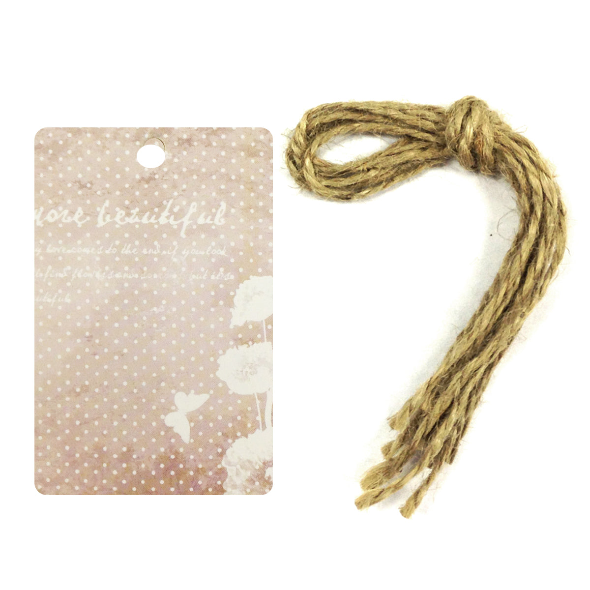 Wrapables Butterfly Printing Tag, Set of 24