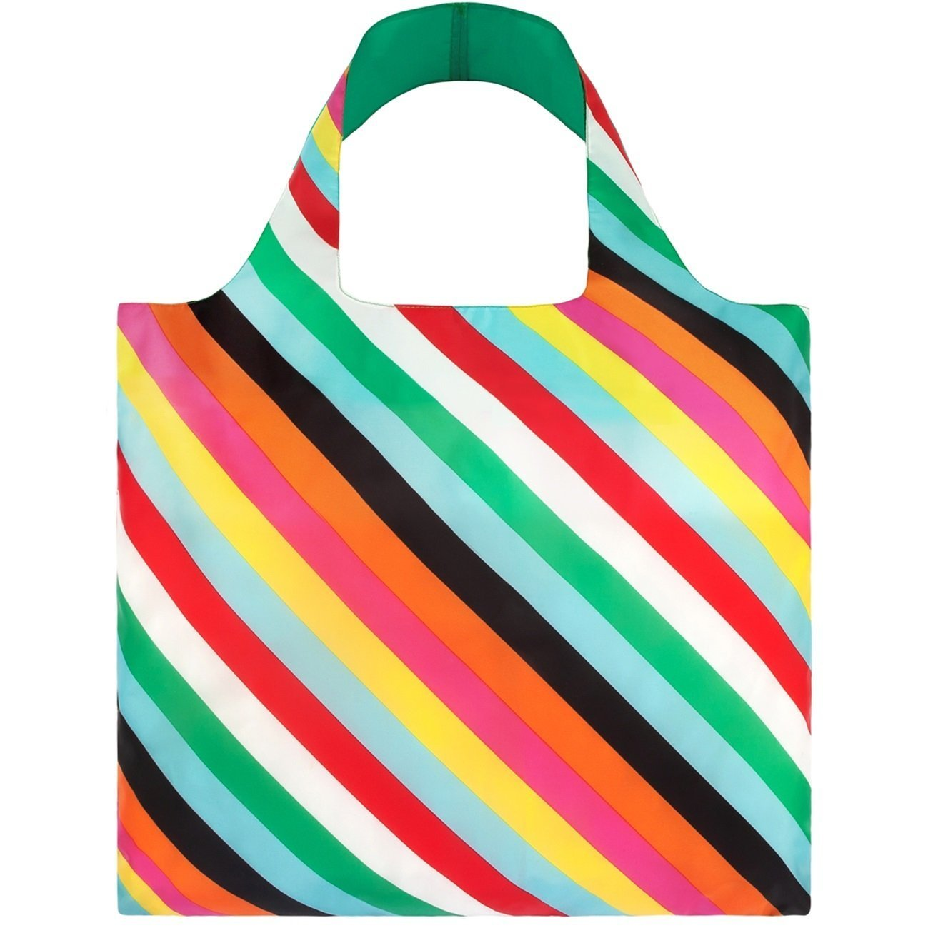 LOQI Pop Stripes Reusable Shopping Bag
