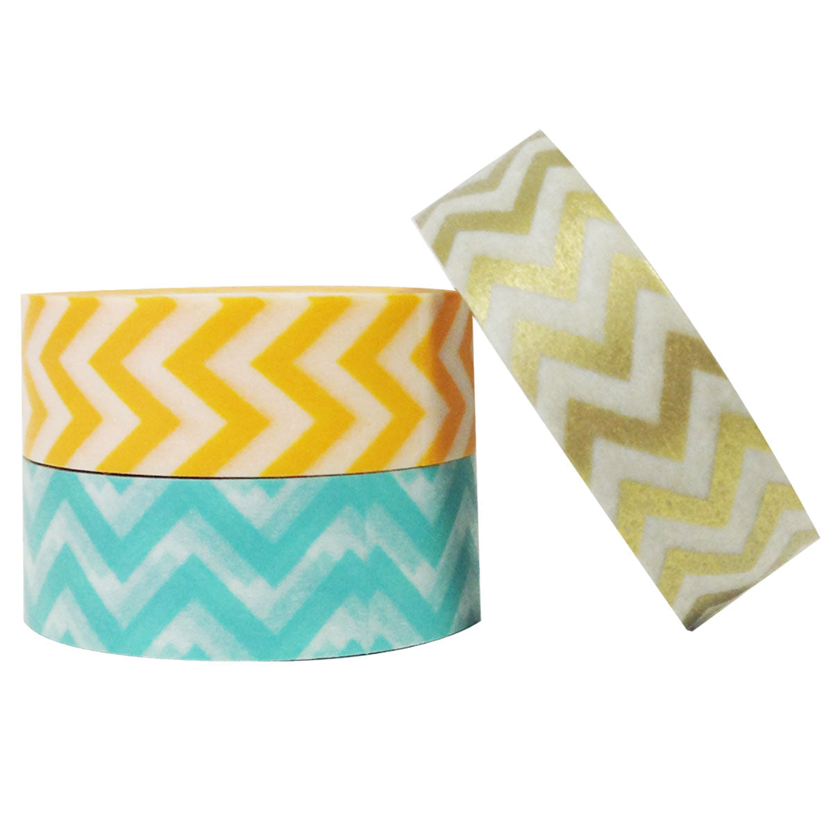 Wrapables Carefree Japanese Washi Masking Tape (set of 3)
