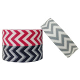 Wrapables Tire Tracks Japanese Washi Masking Tape (set of 3)