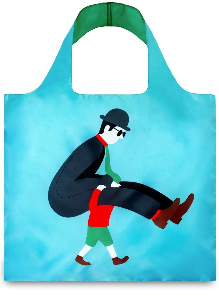 LOQI Artist Carry me Reusable Shopping Bag