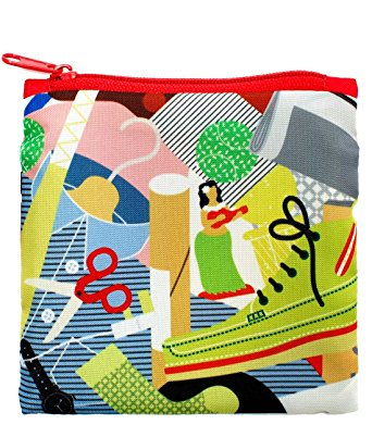 LOQI Artist Everything Reusable Shopping Bag