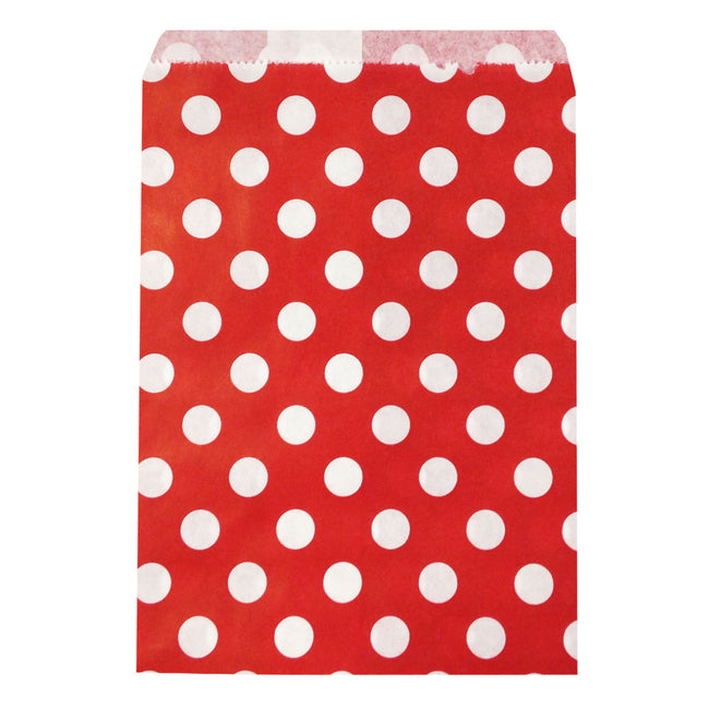 Wrapables Polka Dot Favor Bags, (Set of 25)