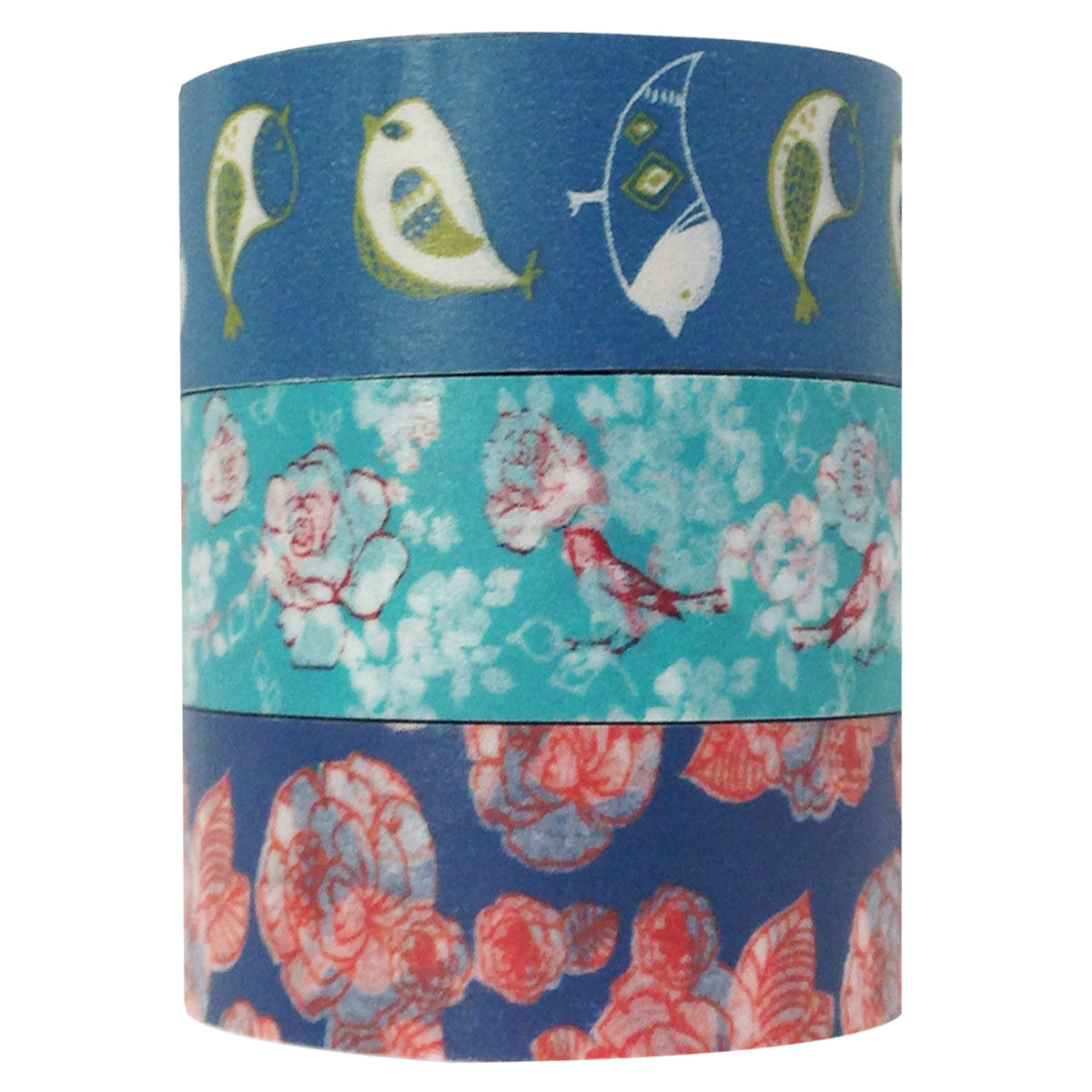 Wrapables Washi Tape (set of 3)