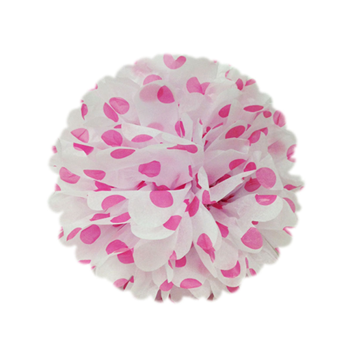 "Wrapables 8"" Set of 5 Tissue Pom Poms Party Decorations"