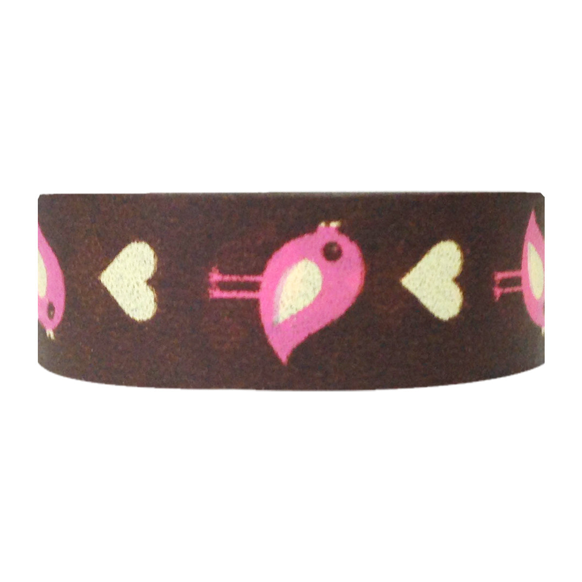 Wrapables Hearts & Sweets Washi Masking Tape, Love Birds