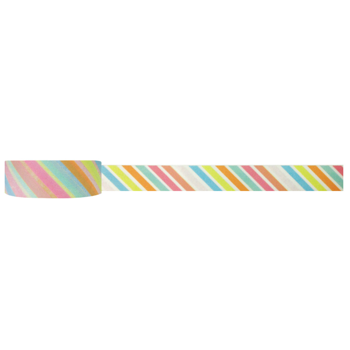 Wrapables Striped Washi Masking Tape, Surfin' Stripes