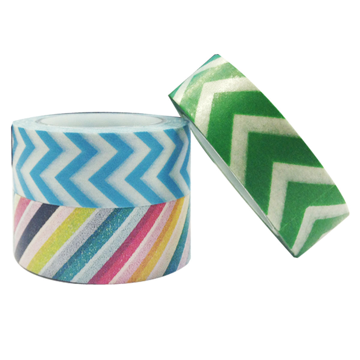 Wrapables Boardwalk Washi Masking Tape (set of 3)