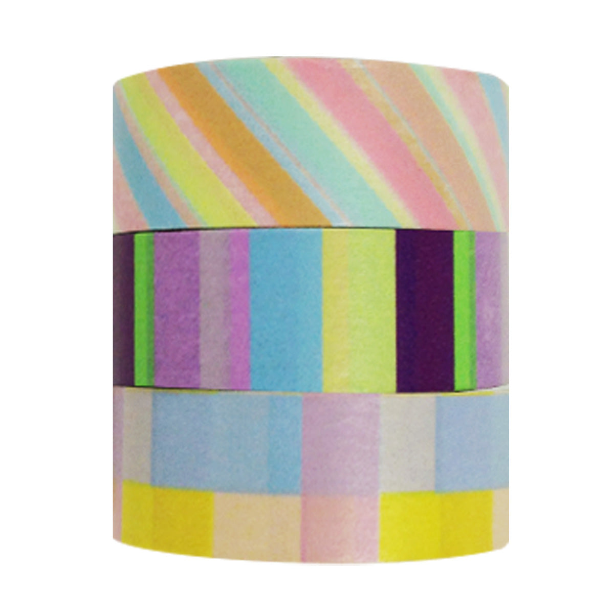 Wrapables Just For Fun Washi Masking Tape (set of 3)