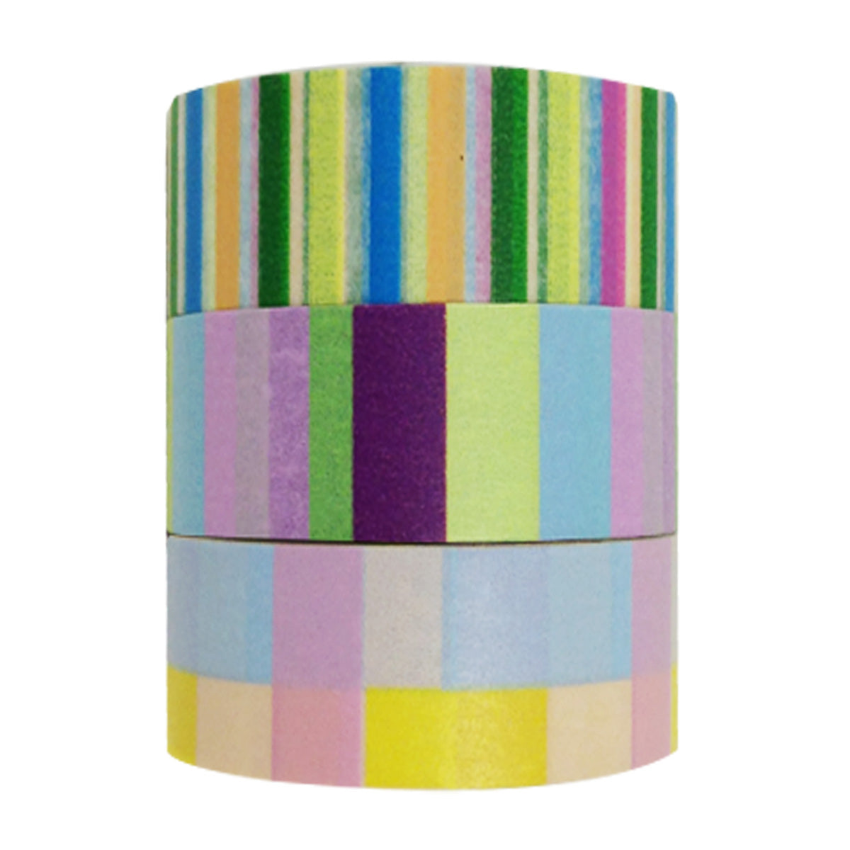 Wrapables Three of Us Washi Masking Tape (set of 3)