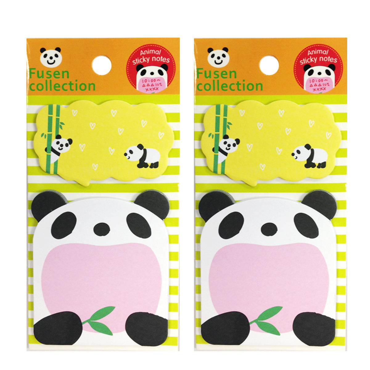 Wrapables Talking Animal Memo Bookmark Sticky Notes (Set of 2)